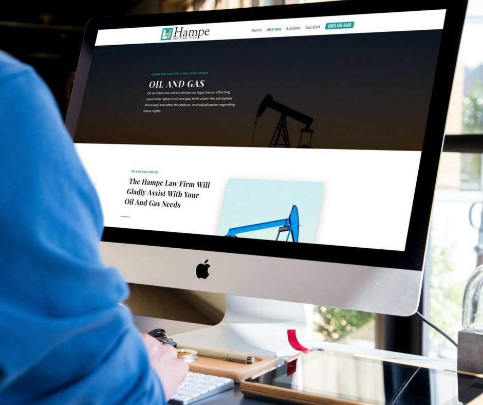 Oil and Gas Web Design Tyler, TX